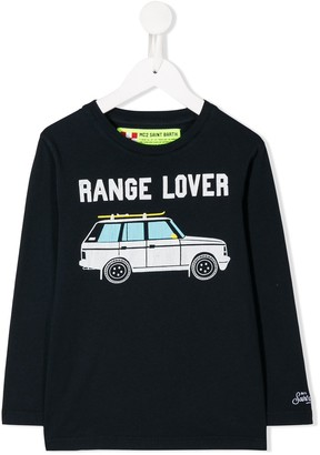 MC2 Saint Barth Kids Range Lover print top