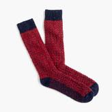 J.Crew Donegal wool herringbone socks