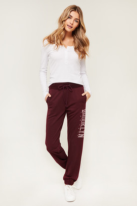 Ardene French Terry Lined Joggers