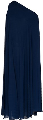 Roland Mouret Pleated Crepe Dress