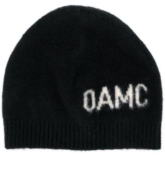 Oamc Logo-Jacquard Beanie Hat