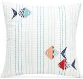 """Vera Bradley Go Fish 16"""" Square Decorative Pillow Bedding"""