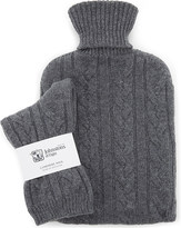 Johnstons socks & hot water bottle set