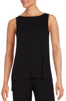 Eileen Fisher Boatneck Sleeveless Top