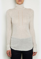 Inhabit Cotton Turtleneck Sweater