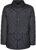 Soul Star Men's Diamond Quilted Jacket