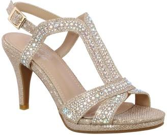 Top Moda Ebony Dressy Heeled Sandal