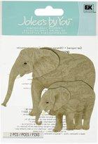 Jolees Jolee's by You Dimensional Sticker, Elephants