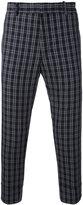 Paolo Pecora plaid cropped trousers - men - Cotton/Spandex/Elastane - 44