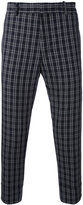 Paolo Pecora plaid cropped trousers - men - Cotton/Spandex/Elastane - 46