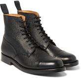 Grenson - Pebble-grain Leather Boots