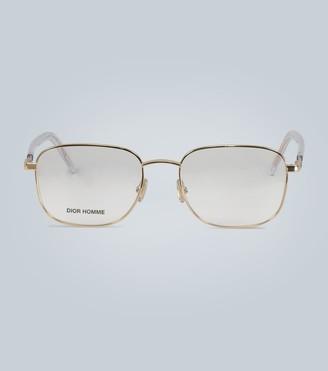 Christian Dior Technicity square glasses
