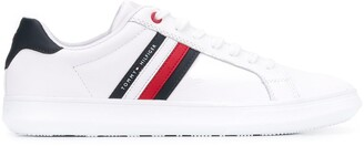 Tommy Hilfiger Stripe Detail Low-Top Sneakers