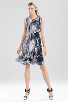 Josie Natori Oriental Ikat Dress