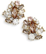 Marchesa Women's Cluster Button Earrings