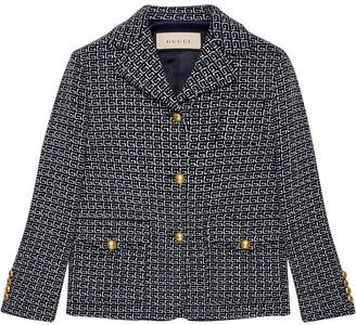 Gucci Logo Detail Jacket