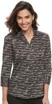 Dana Buchman Women's Poplin Blouse