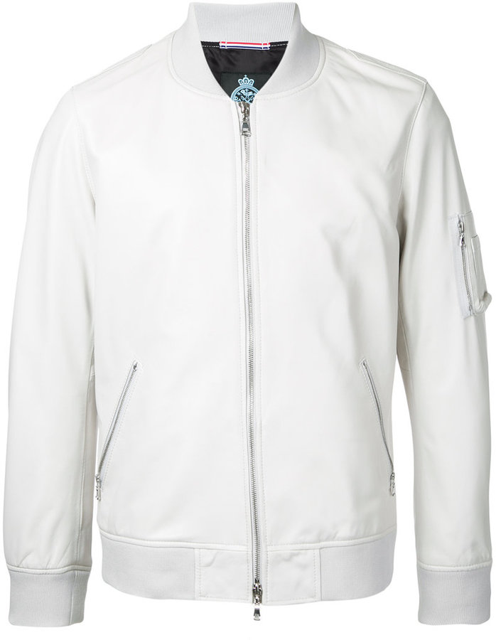 GUILD PRIME plain bomber jacket