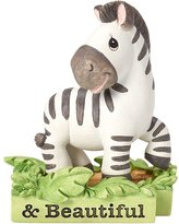 "Precious Moments 162414 Baby Gifts, ""All Things Bright & Beautiful"", Zebra, Resin Figurine"