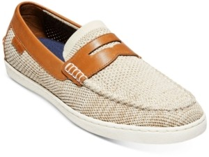 Cole Haan Men's Pinch Weekender Stitchlite Penny Loafers Men's Shoes