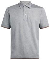 Eleventy Pique Polo Shirt