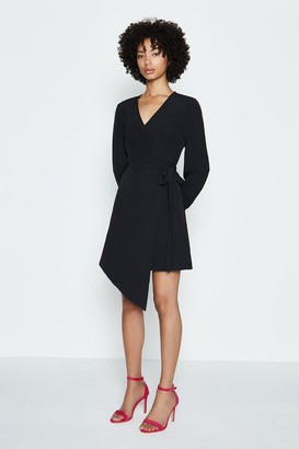 Coast Long Sleeve Short Wrap Dress