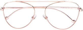 Fendi Round Frame Glasses