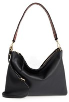 Sam Edelman Raelyn Leather Shoulder Bag - Black