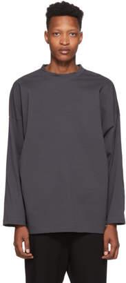 N.Hoolywood Grey High Neck T-Shirt