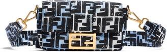 Fendi x Joshua Vides Small Baguette Convertible Nylon Belt Bag