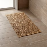 Crate & Barrel Lattice Wooden Mat
