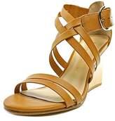 Bettye Muller Cubana Open Toe Leather Sandals.