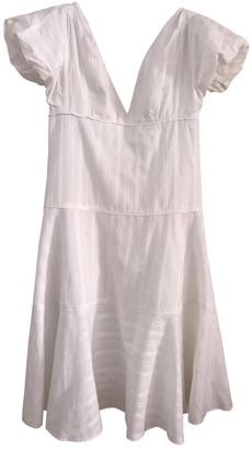 Kenzo White Cotton Dresses