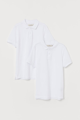H&M 2-Pack Cotton Polo Shirts