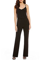 Laundry by Shelli Segal Strappy Cross-Back Jumpsuit