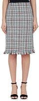 Thom Browne WOMEN'S PLAID COTTON PENCIL SKIRT