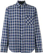 Rag & Bone chest pocket checked shirt - men - Cotton - XS