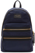Marc Jacobs Navy Biker Backpack