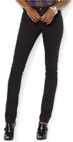 Lauren Ralph Lauren Stretch Premier Black Wash Skinny Jeans