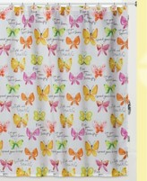 Creative Bath Flutterby Shower Curtain