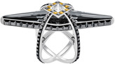 Swarovski Goddess Ring, Black
