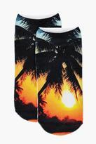 boohoo Ivy Sunset Ankle Socks