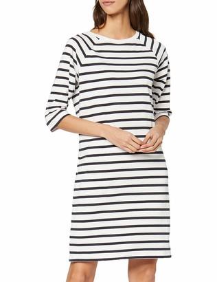 Selected Women's SFNATALI 3/4 DRESS - NOOS Dress White (Snow White) 36 (Manufacturer size: Small)
