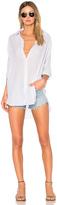 Sundry Gauze Striped Oversized Shirt