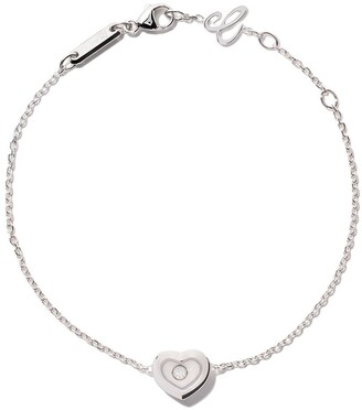 Chopard 18kt white gold Happy Diamonds Icons bracelet