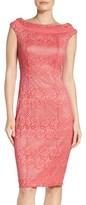 Gabby Skye Women's Lace Body-Con Dress