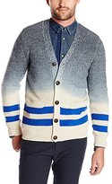 Scotch & Soda Men's Cardigan with Dip Dyed Effect