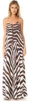 Mara Hoffman Zebra Maxi Dress