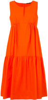 Odeeh ruffled flared dress - women - Cotton - 34