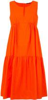 Odeeh ruffled flared dress